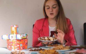 Sinterklaas snoepgoed en koolhydraten IRISSCAN