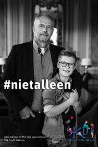 #nietalleen Stichting KinderDiabetes