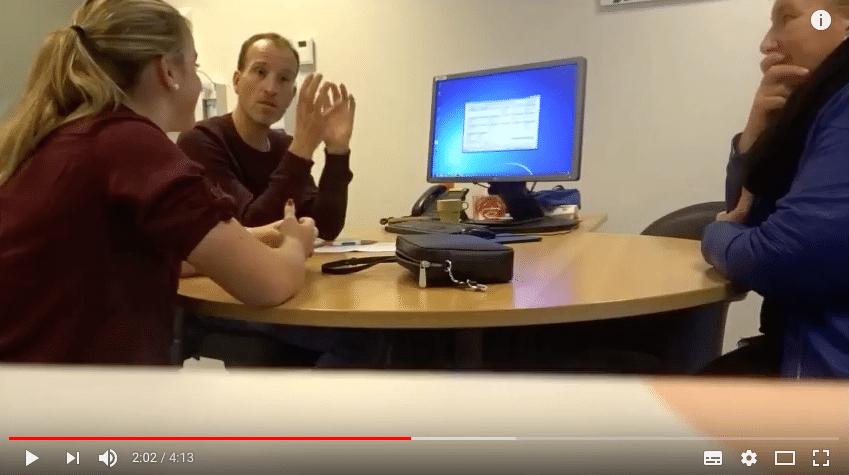 IrisScan | Op bezoek bij diabeter & een dipje